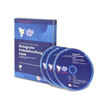 Hörbuch Biologische Krebsbehandlung heute mit drei CDs aus dem Gesundheitsshop im LEBEN