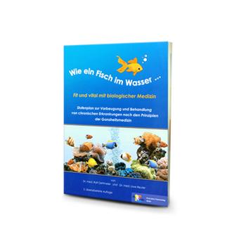 Broschüre Wie ein Fisch im Wasser – Fit und vital mit biologischer Medizin aus dem Gesundheitsshop im LEBEN